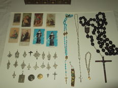 Lot of religious objects - XX° century