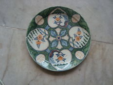18th century hearts plate