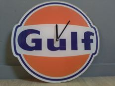 GULF - Dealer / Showroom - Wall Clock - Plastic