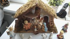 For sale Christmas Group Hummel made by Goebel in Rodenthal, Germany