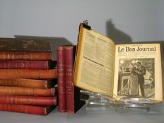 Le Bon Journal. French weekly magazine - volume 10 - 1890/1895