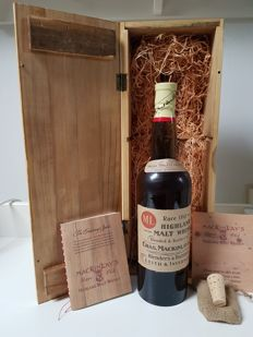 Mackinlays Rare Old Highland Malt Whisky