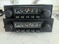 Blaupunkt Munster AM/FM 1970s car radios