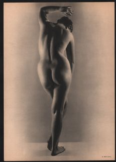 Remy Duval (1907-1984) - Nude Study