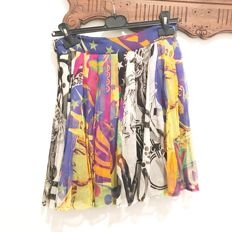 Silk Versace skirt