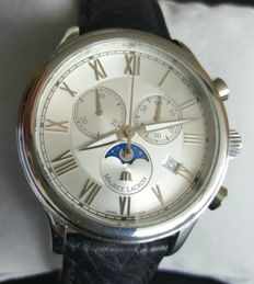 Maurice Lacroix Moonphase Chronograph, Men's, 2010's