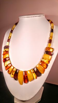 Baltic Amber necklace, length 47 cm, 24 grams