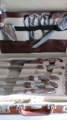 High-quality 59-piece set of knives and cutlery - by STAINER, EXCALIBUR