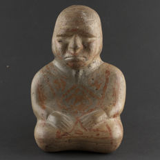 Moche II, sitting person