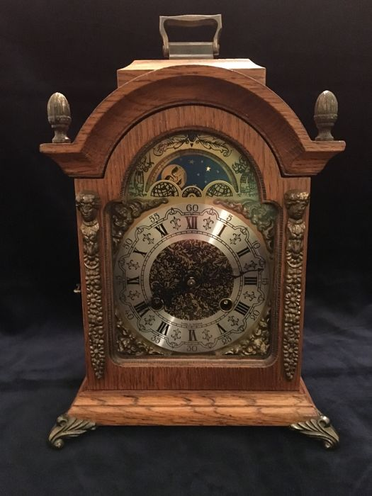 Hermle table clock - Period 1960-1975