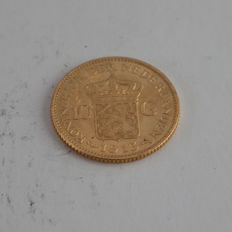 The Netherlands - 10 Guilder coin 1913, Wilhelmina - gold