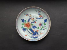 Peony rose Imari plate 18th century China