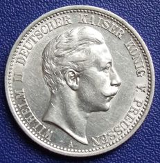 Empire, Prussia - 2 mark 1908 A - silver