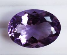 Amethyst - Purple  - 10.25 ct