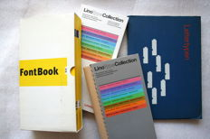 Four catalogues of types - 1986 / 1995