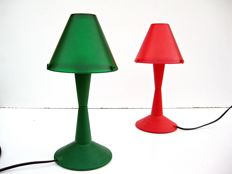 Veneta Lumi - Pair of table lamps - Lulù model – Laguna Light - Series Z200