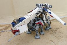 Star Wars - 10195 - Republic Dropship with AT-OT Walker