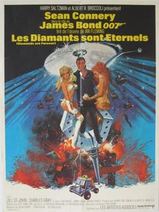 Diamonds are forever (James Bond / Sean Connery) - 1971