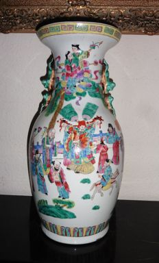 Tongzhi porcelain vase - China - circa 1862