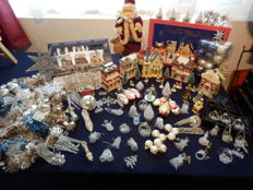 Christmas decoration with 2 Christmas villages