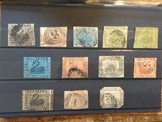 Western Australia - collection of imperforated issues. With almost all the main numbers.