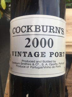 2000 Vintage Port Cockburn - 6 bottles in OWC