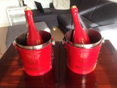 Champagne Brut Piper Heidsieck Cuvee Speciale Jean Paul Gaultier - 2 bottles & 2 coolers