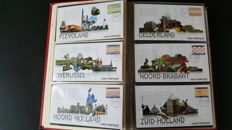 "Netherlands 1960/2001 - collection of FDCs provincial stamps ""Mooi Nederland"" and regular issues"