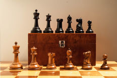 Original Jaques Staunton chess set