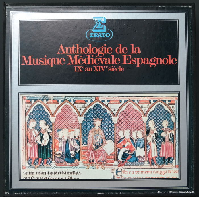 Anthologie de la musique médiévale espagnole IXe au XIVe siècle (5LP Box set) and Music of the Gothic era (3LP Box set)