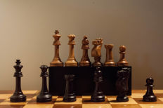 Ajedrez Stawton No.6 Championship chess set