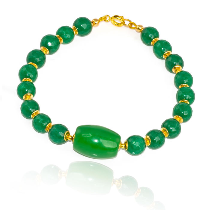 in bracelet green item chinese diameter jade bangle of real bangles