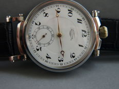 33. Tarnan Swiss - men's marriage wristwatch - ca 1910