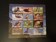 Thematic Animals up to 2014 - Topical collection on stock sheets