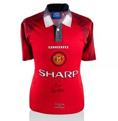 Eric Cantona - Official Signed 'Theatre Of Dreams' Manchester United home shirt 96/97 + COA A1.