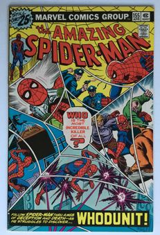 Marvel Comics - The Amazing Spider-Man #155 - 1x sc - (1976)
