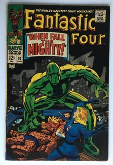 Marvel Comics - The Fantastic Four #70- 1x sc - (1967)