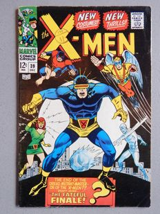 Marvel Comics - X-Men #39 - 1x sc - (1967)