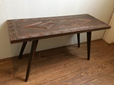 African coffee / end table