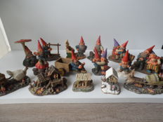 15 gnome figures and gnome cottages of rien poortvliet