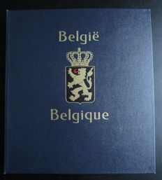 Belgium 1981/1992 - Collection in Davo Album with blocks, stamps from blocks and booklets