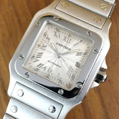 Cartier Santos Gilloché - Men´s Date Watch