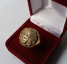 French Foreign Legion Etrangere 3REI ring. 20,5mm.
