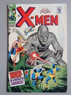 Marvel Comics - X-Men #34 - 1x sc - (1967)