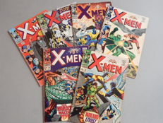 Marvel Comics - X-Men #22 + 23 + 29 + 26 + 30 + 36 - 6x sc - (1966-1967)