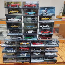 33 models of cars out James bond movies