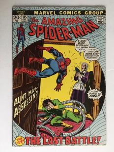 Marvel Comics - The Amazing Spider-Man #115 - 1x sc - (1972)