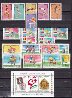 Romania 1968/1992 - Set of series and sheets