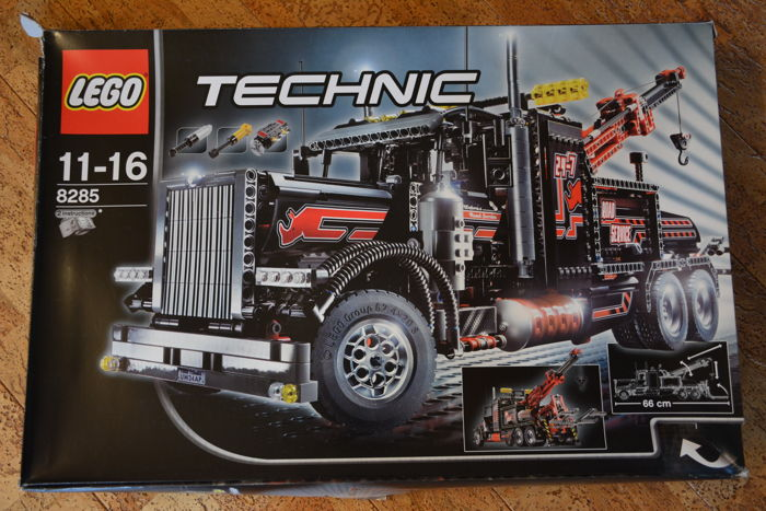 technic 8285 tow truck catawiki. Black Bedroom Furniture Sets. Home Design Ideas