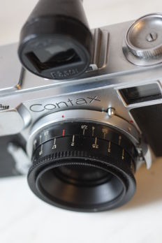 contax WWII  with Carl Zeiss Jena  Contax II   35MM LENS FINDER